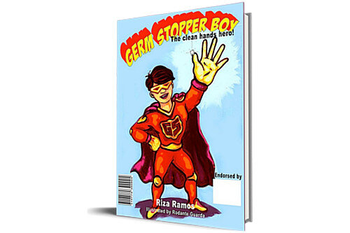 Germstopper Boy! The Clean Hands Hero! - Little Eman just doesn't understand why he always has to wash his hands. Then one day at school he learns something cool, and now he's got all sorts of plans! What did Eman learn that made him want to become a superhero in his home? Find out, and maybe you can become a superhero too! FOR AGES 8-10; 3rd grade level (60 pages | Size: 8 x 10 | ISBN: 978-9828684-30 DOWNLOAD A PREVIEW